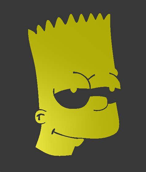 Bart Simpson Stencil