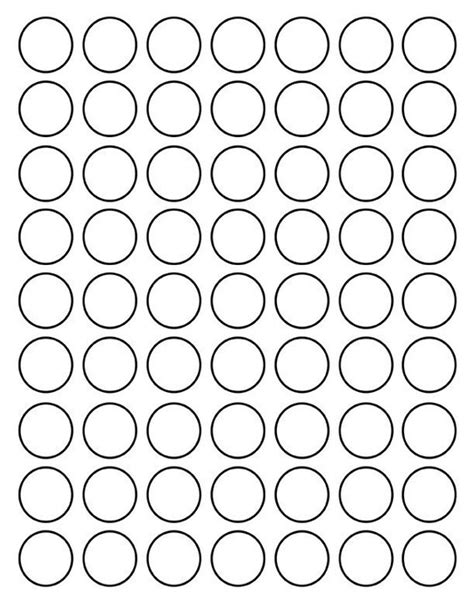 circle images printable