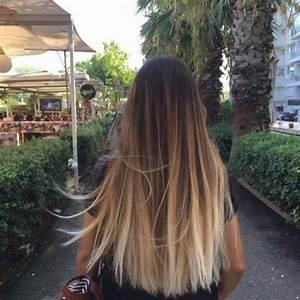 Balayage Naturel Effet Soleil Sur Brune : balayage blond ou caramel pour vos cheveux ch tains hair ~ Farleysfitness.com Idées de Décoration