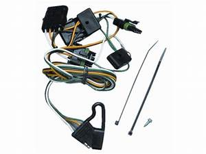 118356 T-one Trailer Hitch Wiring Harness Jeep Wrangler Yj 1991-1995