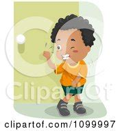 royalty  rf clipart illustration   man sick