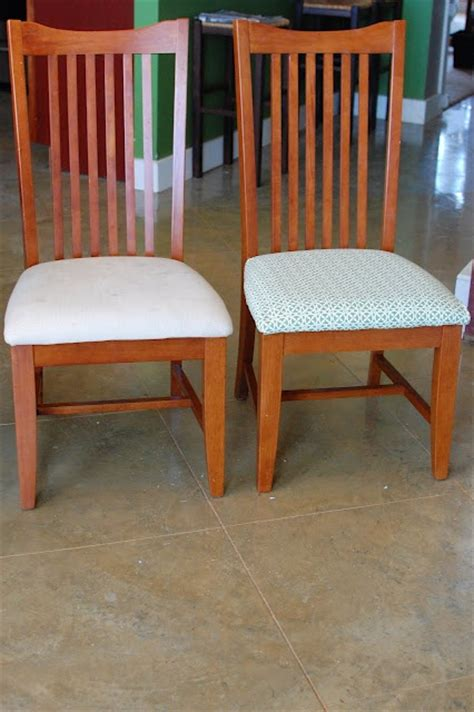 how to recover kitchen chairs diy