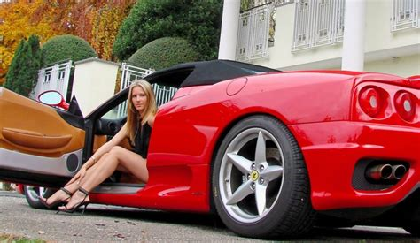 lady ferrari  hd wallpapers   images
