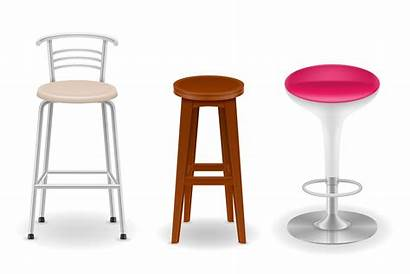 Vector Stool Bar Chair Illustration Icons Clipart