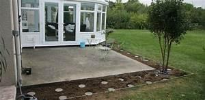les reportages photos blog terrasse bois With construire une terrasse en beton