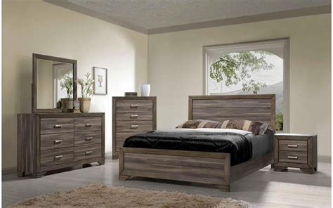 asheville driftwood king bedroom my furniture place