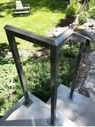 Outdoor Metal Handrails For Stairs by Custom Steel Exterior Handrails Windsor Essex Ontario