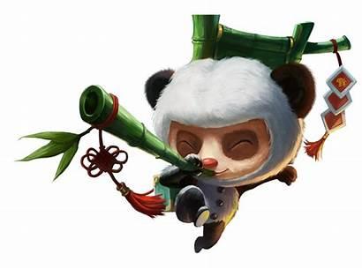 Panda Teemo League Legends Skin Transparent Purepng