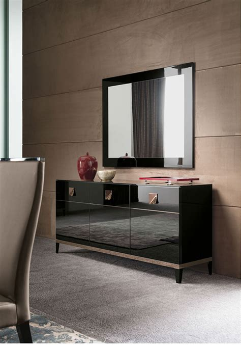 Black Gloss Buffet Sideboard by Contemporary Black High Gloss Furniture Italian