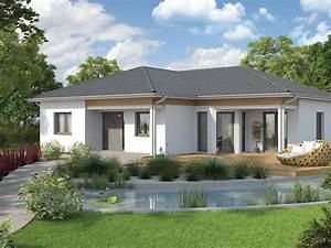 Kleinen Bungalow Bauen : vario haus bungalow we136 gibtdemlebeneinzuhause einfamilienhaus fertighaus fertigteilhaus ~ Sanjose-hotels-ca.com Haus und Dekorationen