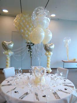 ballondeko und luftballons fuer die hochzeit nuernberg