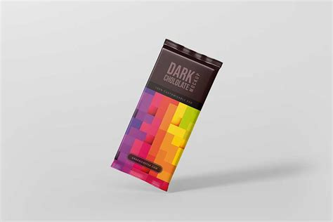 Very simple edit with smart layers. Download This Chocolate Bar Mockup Free PSD - Designhooks