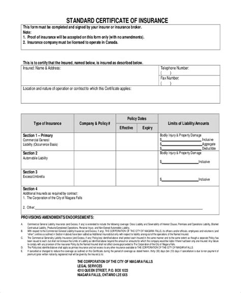 Auto Insurance Quote Form Template