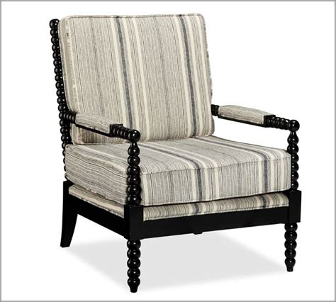 sabine spindle armchair by pottery barn ottomans chairs