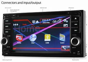 Car Dvd Mp3 Player Stereo Radio Cd For Toyota Hilux Land