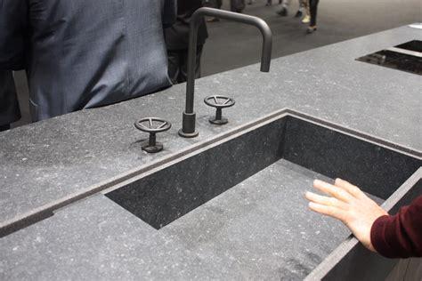 shallow kitchen sink new kitchen sink styles showcased at eurocucina 2179