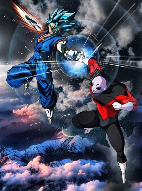 vegito  jiren anime pinterest dragon ball dragons