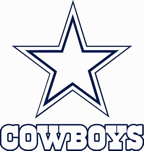 cowboys colors dallas cowboys coloring page coloring home
