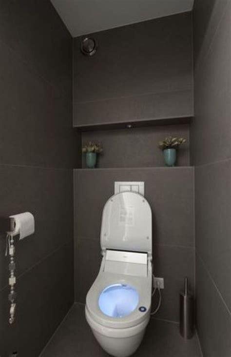Wc Lave Intégré Kleine Toiletruimte Inrichten Zoeken Idee Die Achterwand Toilet Toilet
