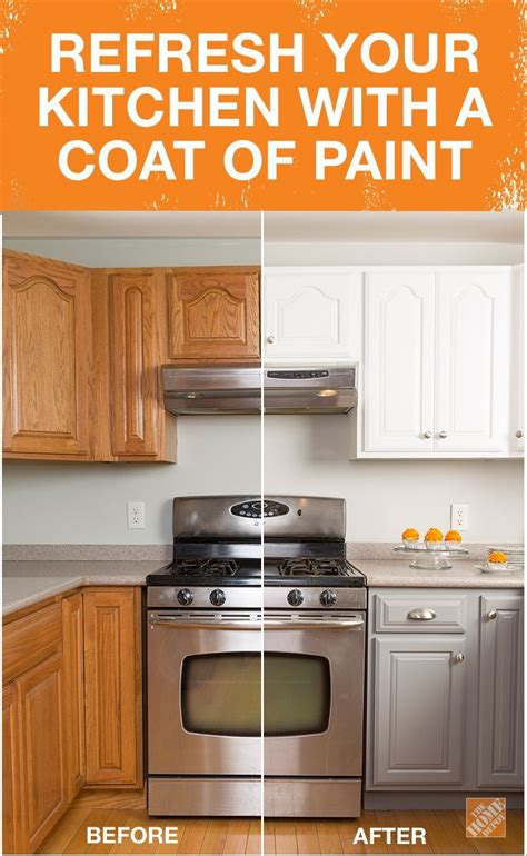 How To Paint Kitchen Cupboards White by Get The Look Of New Kitchen Cabinets The Easy Way Home