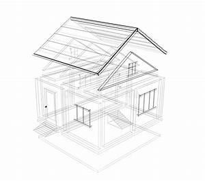 croquis 3d d39une maison illustration stock illustration With croquis d une maison