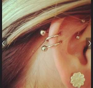 Double Cartilage Hoop Earrings 41790 | BURSARY