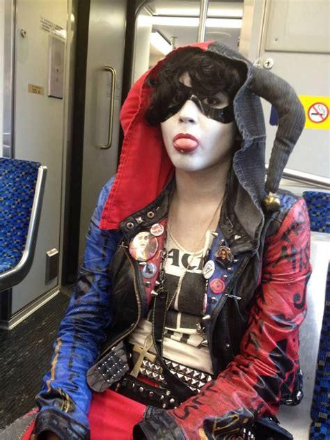 Punk Harley Quinn By Captaindeathbat The Jokerz Gang