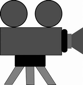 Movie Camera Clip Art at Clker.com - vector clip art ...