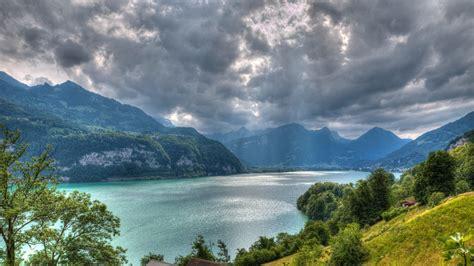 walensee lago en suiza fondo de pantalla  ultra hd id