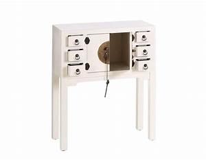 Console D Entrée Blanche : petite console d 39 entr e chinoise blanche meuble chinois pas cher ~ Voncanada.com Idées de Décoration