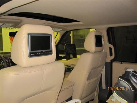 headrest dvd players ford truck enthusiasts forums