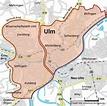 Karta Njemačke Ulm | Karta