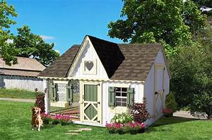 Luxury small and large outdoor dog house for life and style for Luxury outdoor dog house