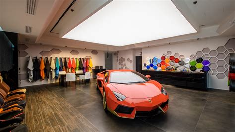 Lamborghini Ad Personam by Lamborghini Opens Ad Persona Studio At Headquarters