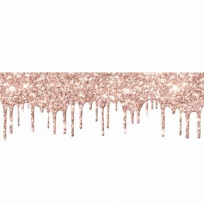 Drip Glitter Rose Drips Card Makeup Spark