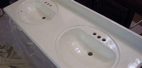refinishing  bathroom vanity top part  julepstyle