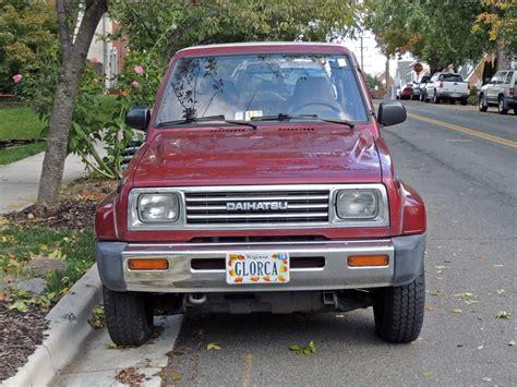 1990 daihatsu rocky curbside classic 1990 daihatsu rocky se technical knockout