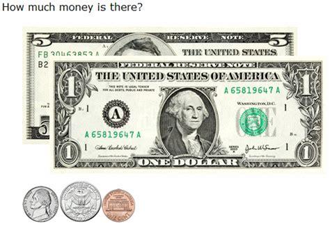 ixl count coins  bills    bill  grade