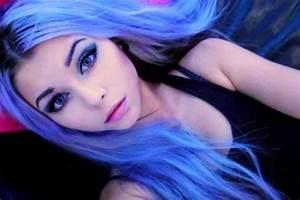 30 Pretty Blue Hairstyles for Women - Pretty Designs