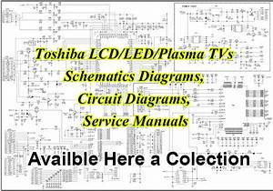 Toshiba Tvs Schematics Diagrams  Circuit Diagrams  Service