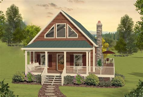 Two Bedroom Cottage House Plans by Two Bedroom Cottage Home Plan 20099ga Architectural