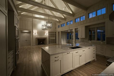 Kitchen Cathedral Ceiling  Contemporary  Kitchen  Cameo