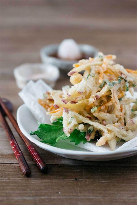 japanese kakiage tempura chopstick chronicles