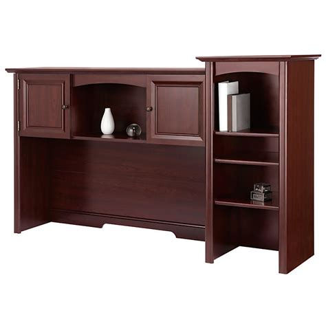 Realspace Broadstreet Contoured U Shaped Desk by Realspace Broadstreet Contoured U Shaped Desk W Hutch