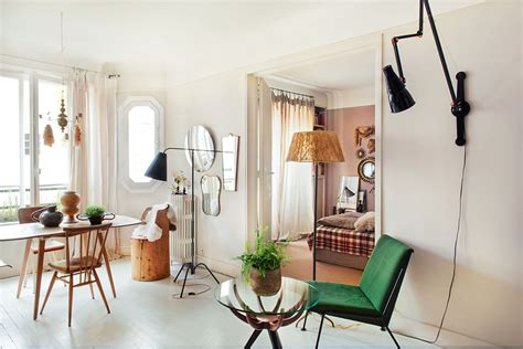 Vintage Home Style : Vintage Style Small Apartment Of Carole Borraz