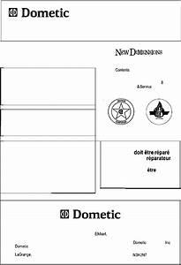 Dometic Refrigerator Ndr1292