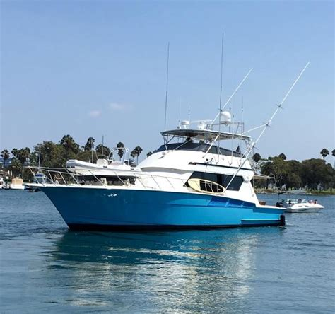 Fishing Boat For Sale In California by Used Sports Fishing Hatteras Boats For Sale In California