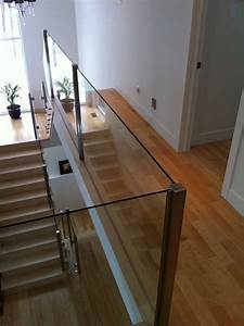 Rampe Pour Escalier : fabrication et installation de rampes d 39 escalier et garde corps en verre ~ Melissatoandfro.com Idées de Décoration