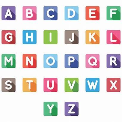 Letters Printable Alphabet Bubble Dye Tie Colored
