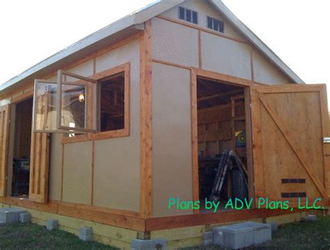 Permalink to Free 12×16 Barn Shed Plans Pdf